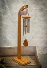 SMALL WIND CHIME & STAND SYMPATHY