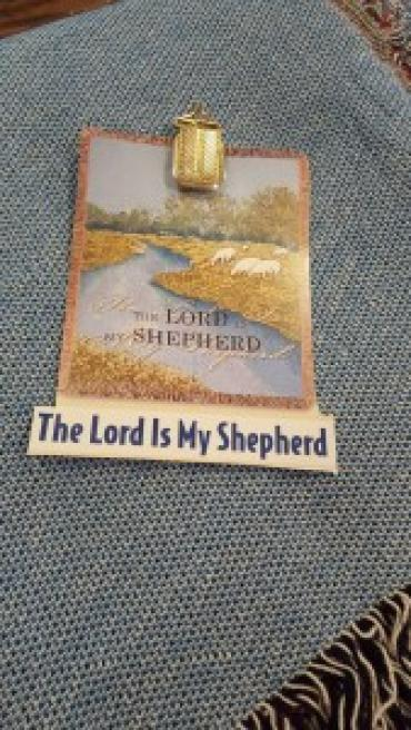 THE LORD IS MY SHEPARD SYMPATHY TAPESTRY