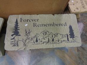 Forever Remembered Sympathy Bench