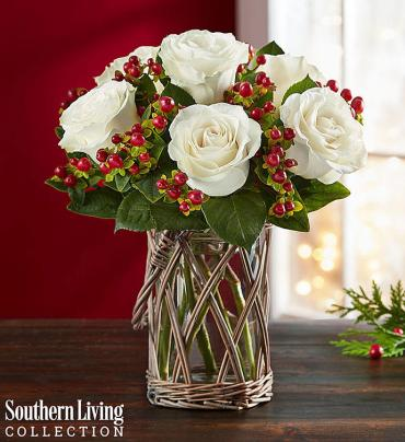 Happy Holiday Bouquet by Southern Living®