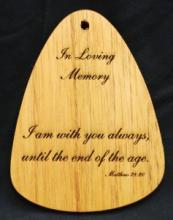 I AM WITH YOU ALWAYS WIND CHIME PLAQUE
