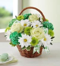 St Patrick\'s Day Basket