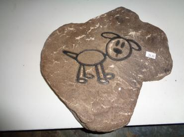 Doggy Paving Stone